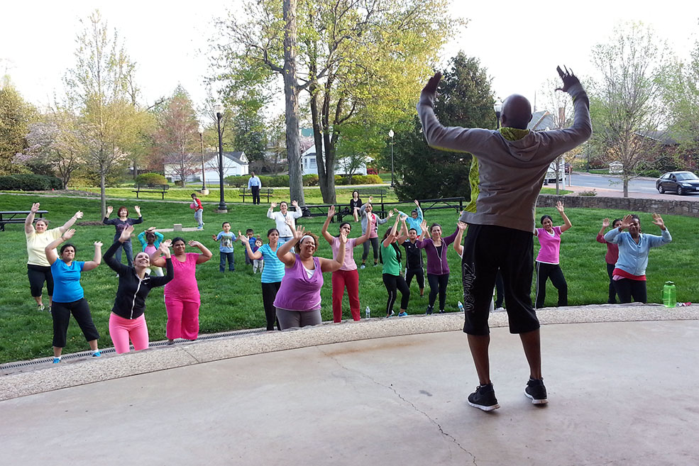 Zumba in the Park 001