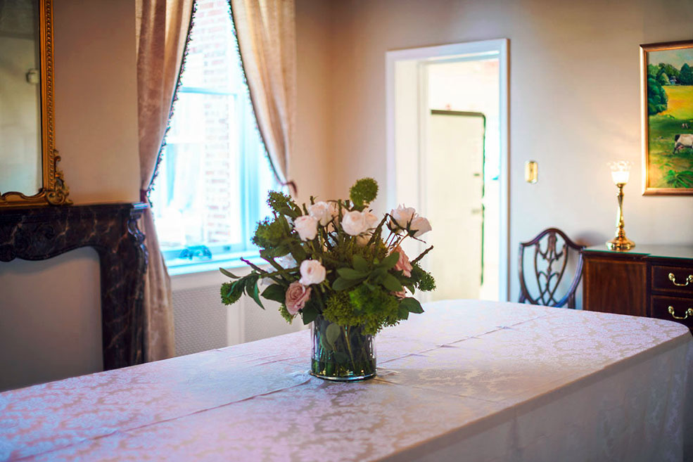 Kentlands Mansion Dining Room. Photograph courtesy of Dulce De V Photography.