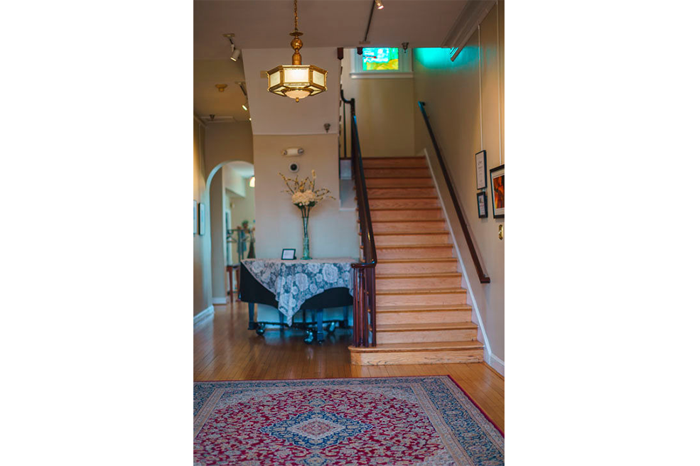 Kentlands Mansion First Floor Foyer