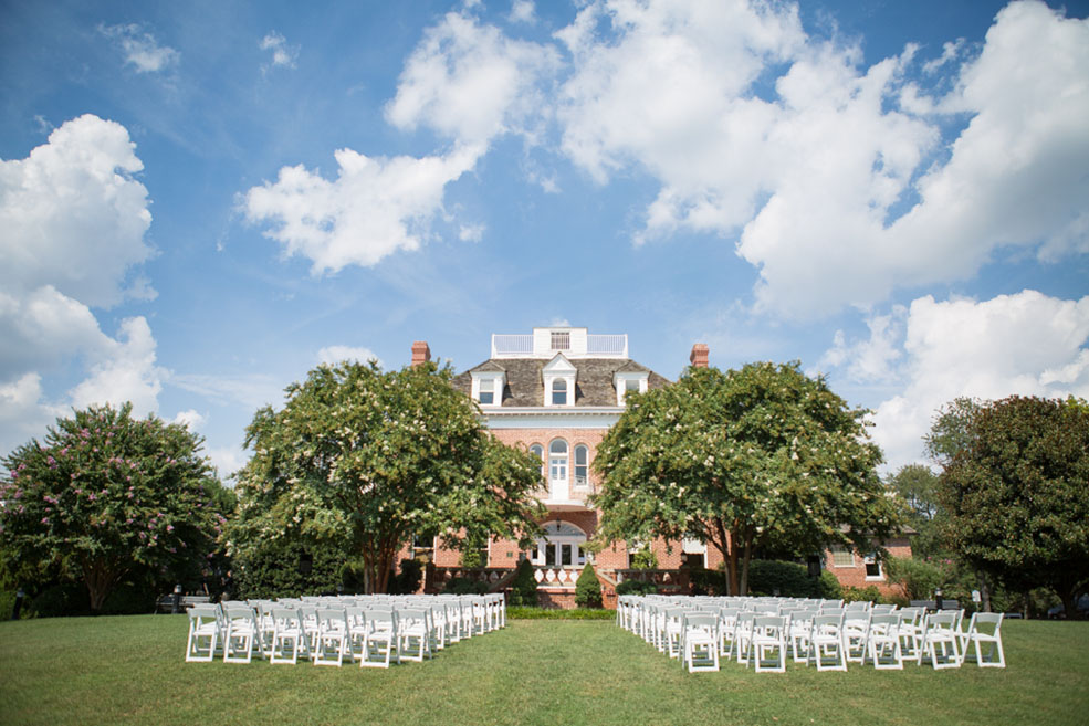 Kentlands Mansion Lawn, photograph courtesy of Helen John Photography