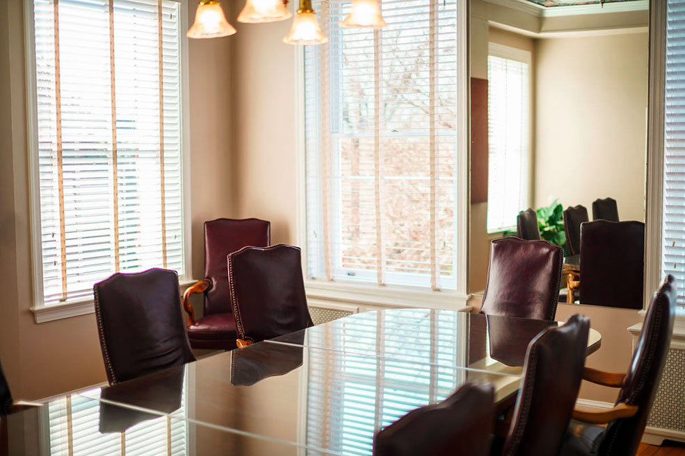 Kentlands Mansion Conference Room. Photograph courtesy of Dulce De V Photography.