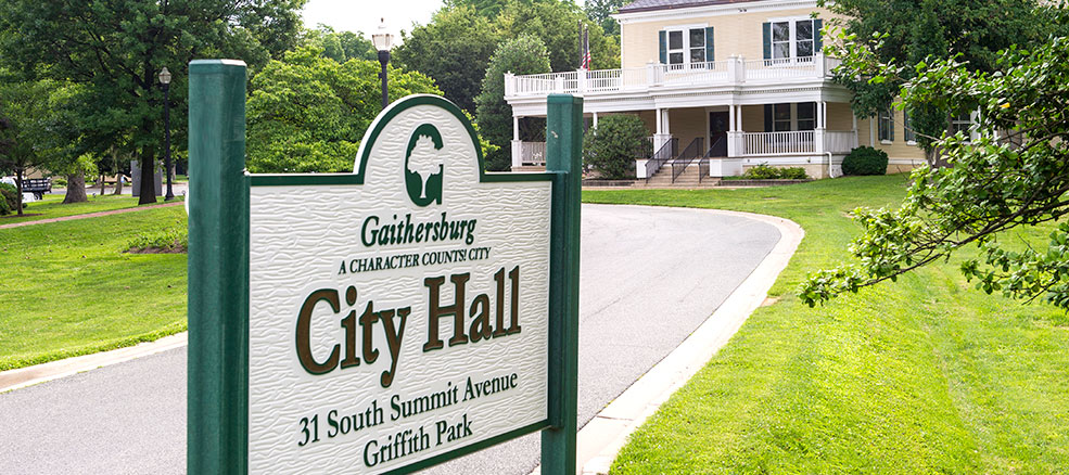 City Hall Sign