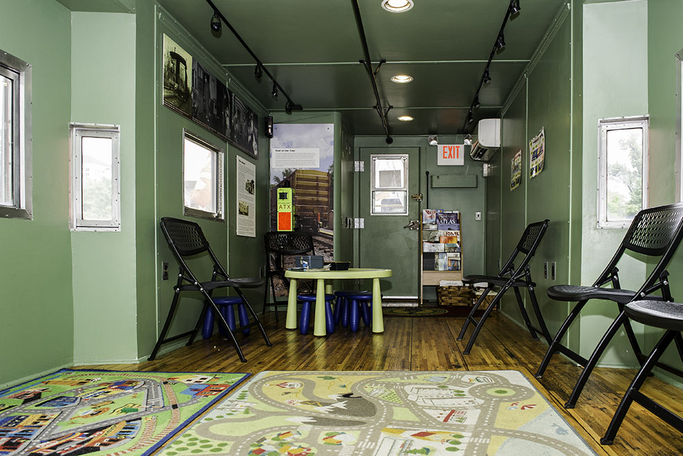 Railroad Learning Center. Children can build their own railway and learn about the different jobs on the railroad. Activity sheets, books and games help children explore trains and the history of the railroad.