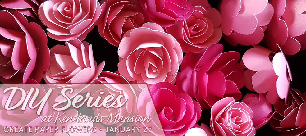 Create Paper Flowers - January 27, 2019