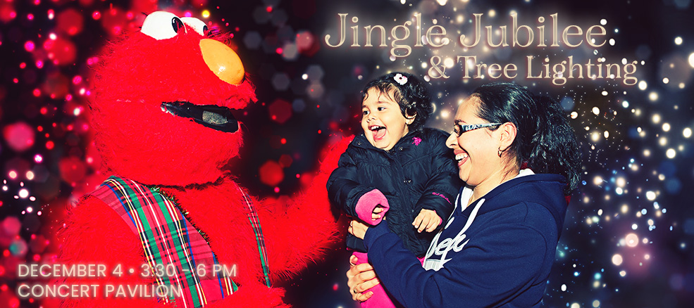 Jingle Jubilee, December 7, 2019, 6 to 7:30 PM, at the Concert Pavilion