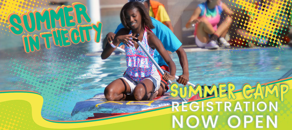 Summer Camp Banner - Open Registration