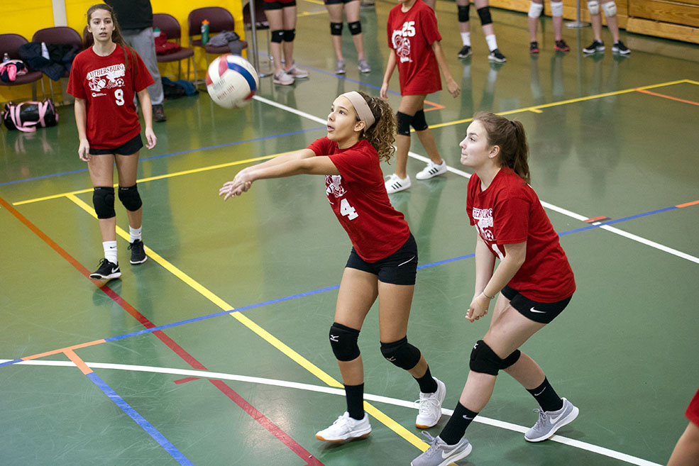 Youth & Teen Volleyball