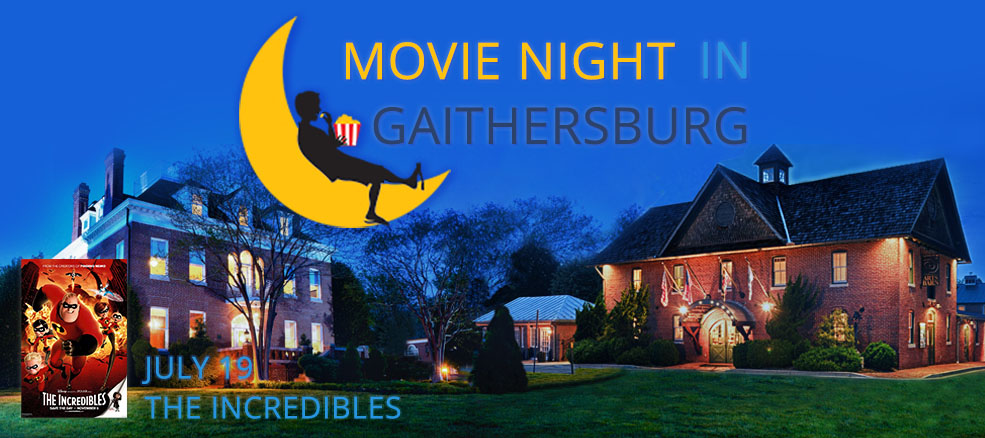 Movie Night in Gaithersburg - The Incredibles