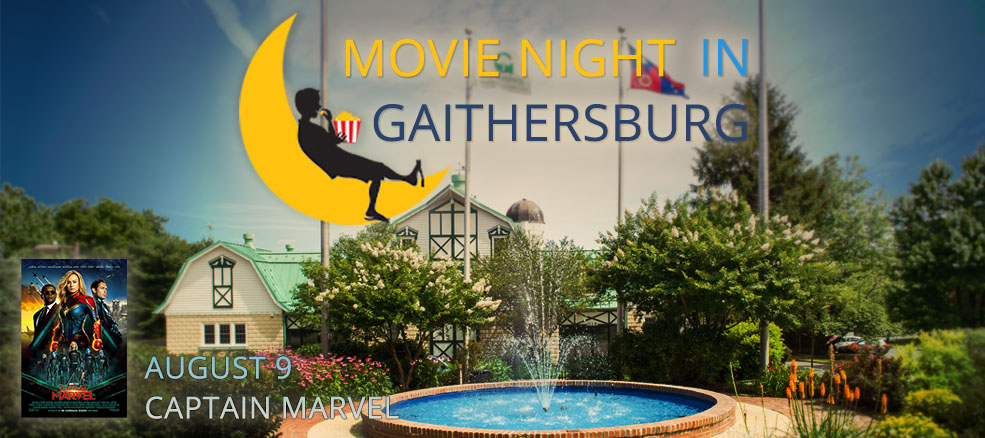 Movie Night in Gaithersburg - Captain Marvel