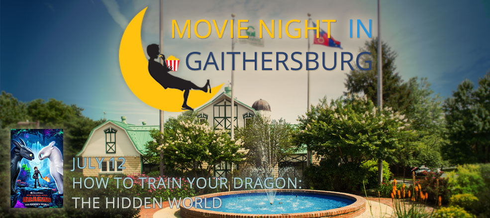 Movie Night in Gaithersburg - How to Train your Dragon