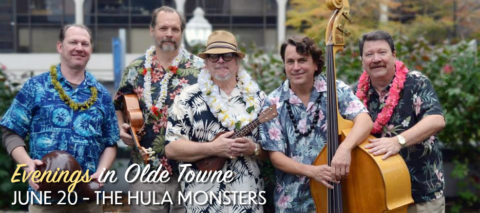 Evenings in Olde Towne - The Hula Monsters