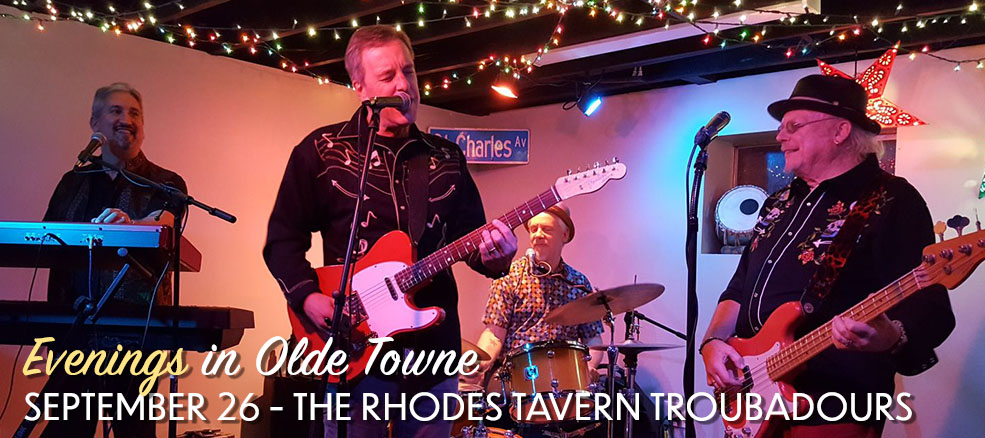 Evenings in Olde Towne - The Rhodes Tavern Troubadours