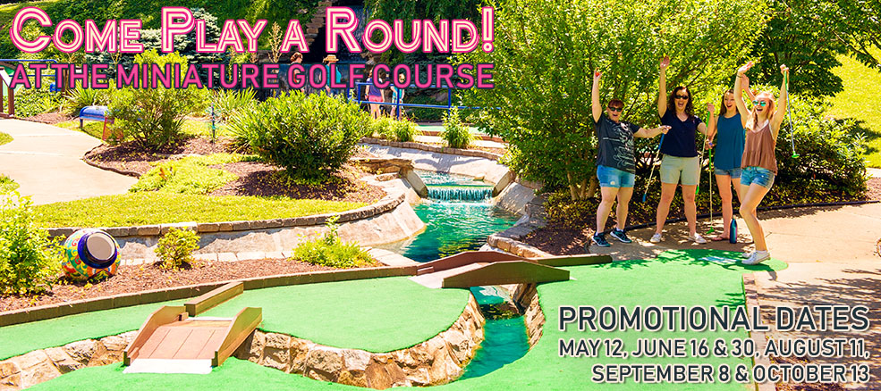 Miniature Golf Promotional Dates