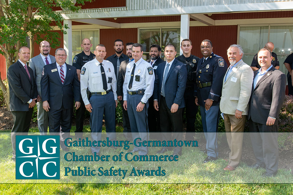 Gaithersburg Police Officers Honored at Public Safety Awards
