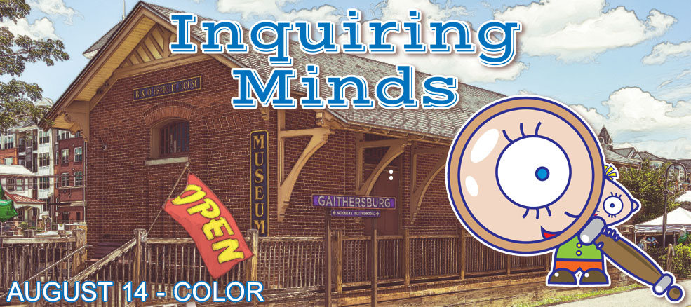 Inquiring Minds - August 14, 2019, Topic: Color