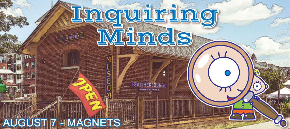 Inquiring Minds - August 7, 2019, Topic: Magnets