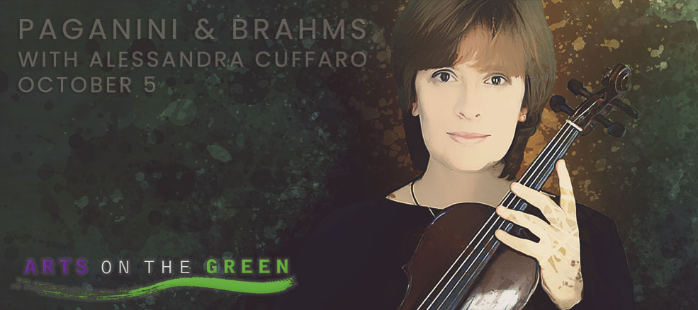 Paganini & Brahms with Alessandra Cuffaro, October 5, 2019