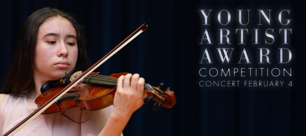 Young Artist Award Competition Concert, February 1, 2020