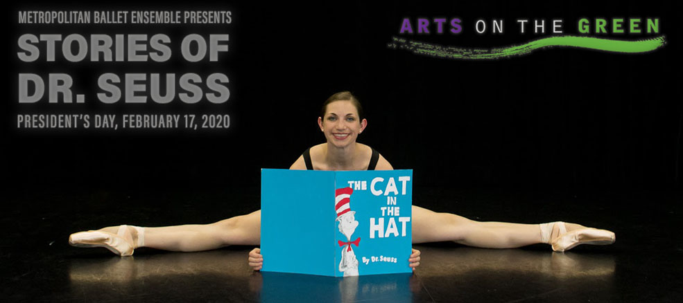 Maryland Ballet Ensemble presents Stories of Dr. Seuss on President's Day, February 17, 2020