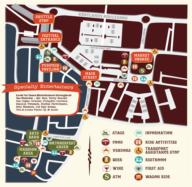 Oktoberfest Event Map