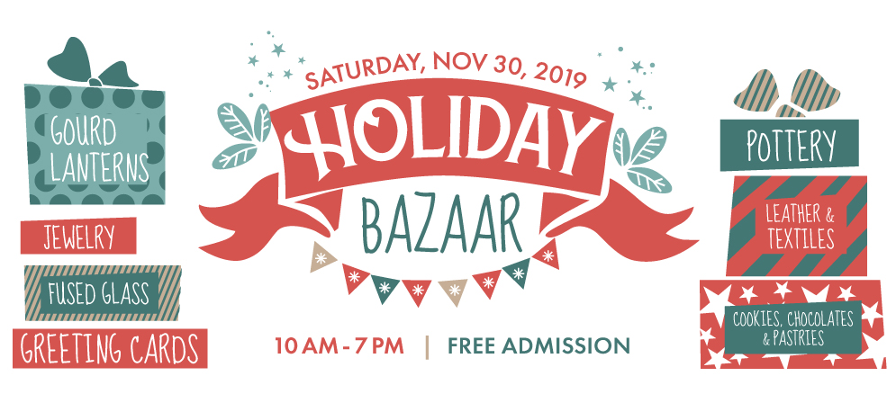 Holiday Bazaar at the Arts Barn, November 30, 2019, 10 AM - 7 PM