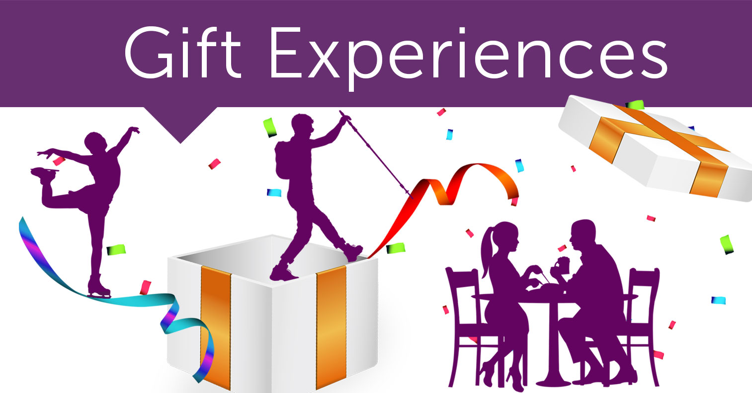 Gift Outside the Box, Gift Experiences