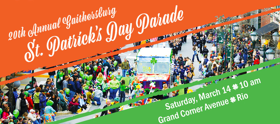 St. Patrick's Day Parade, Saturday, March 14, 2020, Rio Washingtonian Center