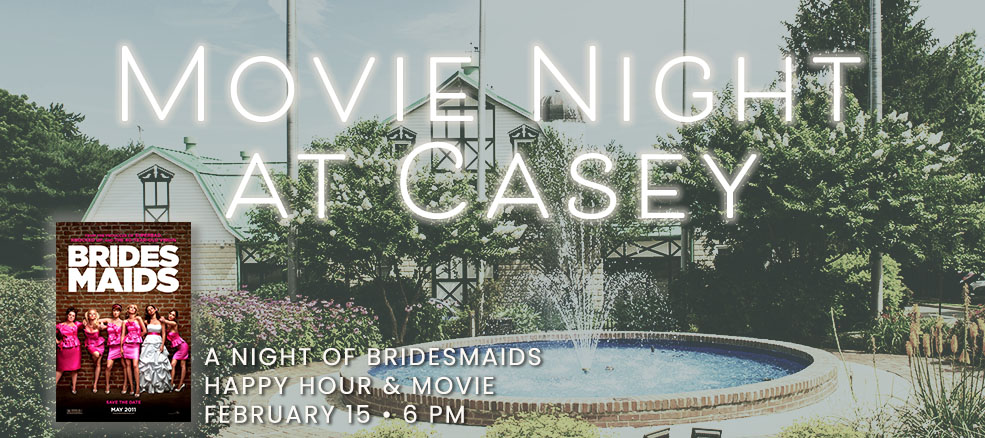 A Night of Bridesmaids, Happy Hour & Movie, February 15, 2020, 6 PM