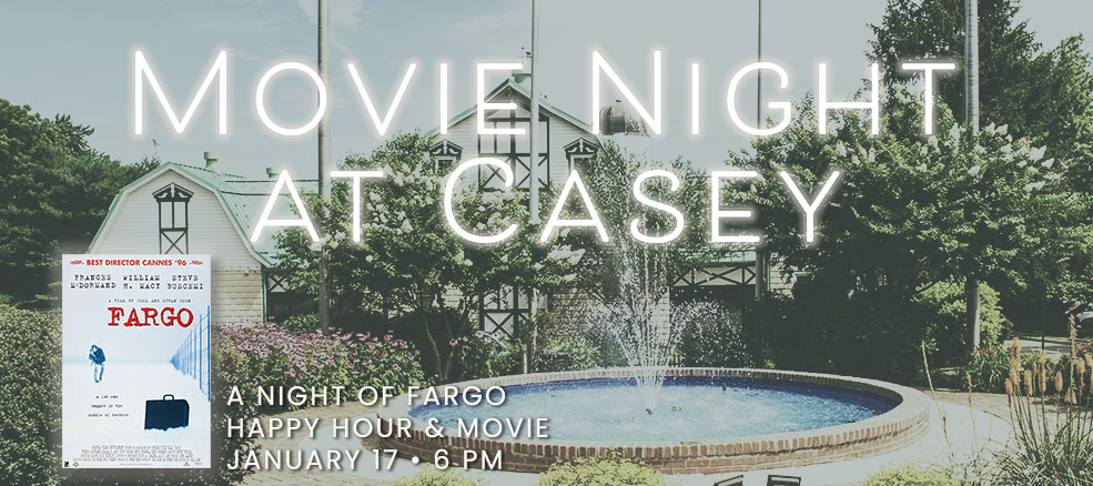 A Night of Fargo, Happy Hour & Movie, January 17, 2020, 6 PM